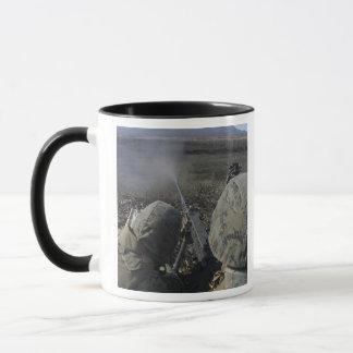 Marines fire an M2 50 caliber machine gun Mug