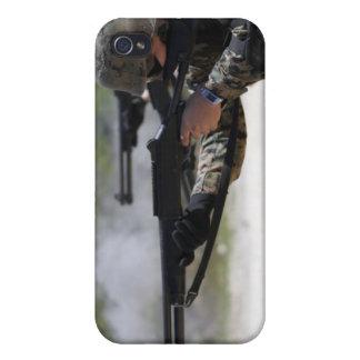 Marines firing shotguns iPhone 4/4S case