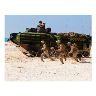 Marines from India Company Bright Star 2009 Postcard