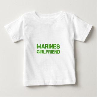 marines-girlfriend-clean-green.png baby T-Shirt
