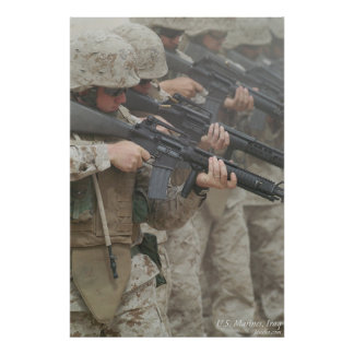 Marines in Iraq Poster