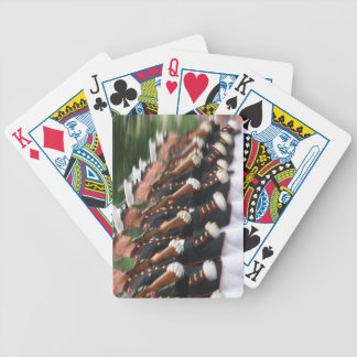 Marines Marching Playing Cards