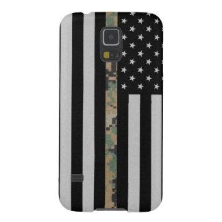 Marines/Navy Thin Marpat Camo Line Flag Galaxy S5 Galaxy S5 Cover