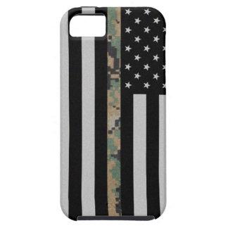 Marines/Navy Thin Marpat Camo Line Flag iPhone 5 iPhone SE/5/5s Case