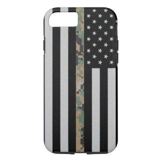 Marines/Navy Thin Marpat Camo Line Flag iPhone 7 iPhone 7 Case