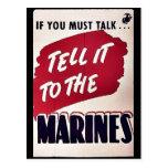 Marines Postcard