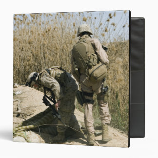 Marines search for weapons caches binders
