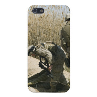 Marines search for weapons caches iPhone 5 cover