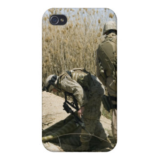 Marines search for weapons caches covers for iPhone 4