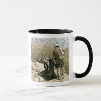 Marines search for weapons caches mug