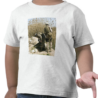 Marines search for weapons caches shirt