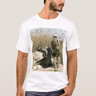 Marines search for weapons caches T-Shirt