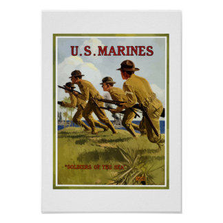 Marines -- Soldiers Of The Sea Poster