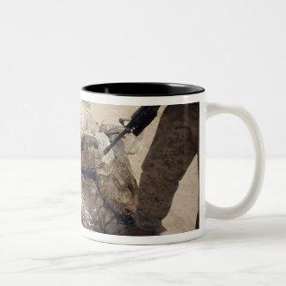 Marines Two-Tone Coffee Mug