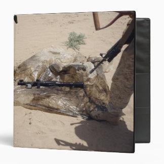 Marines Vinyl Binder