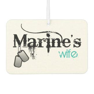 Marine's Wife Air Freshener
