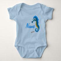 Marinho horse baby bodysuit