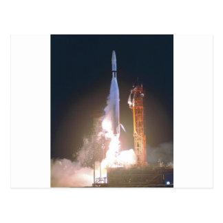 Marino I 1 cohete en espacio hacia la NASA de Venu Postales