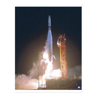 Marino I 1 cohete en espacio hacia la NASA de Venu Postal