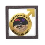 Marino: ¡Las puntas de prueba de Marte tempranas! Caja De Recuerdo De Calidad