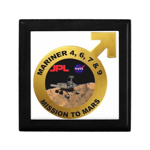 Marino: ¡Las puntas de prueba de Marte tempranas! Caja De Joyas