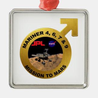 Marino: ¡Las puntas de prueba de Marte tempranas! Adornos