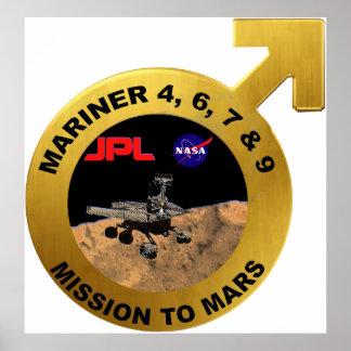 Marino: ¡Las puntas de prueba de Marte tempranas! Poster