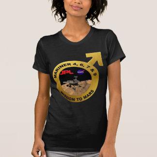 Marino ¡Las puntas de prueba de Marte tempranas Camisetas