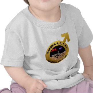 Marino ¡Las puntas de prueba de Marte tempranas Camiseta
