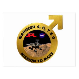 Marino: ¡Las puntas de prueba de Marte tempranas! Tarjetas Postales
