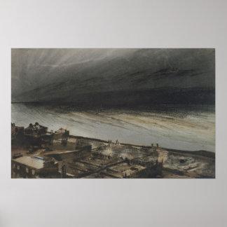 Marino-Terraza, jersey, 1855 Póster