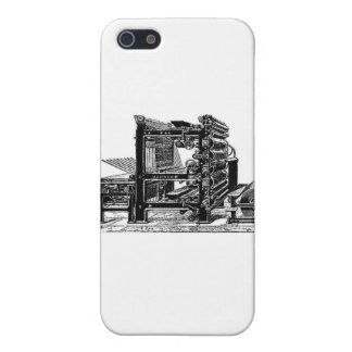 Marinoni Rotary printing Press Case For iPhone SE/5/5s