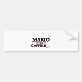 Mario accionó por el cafeína pegatina para auto
