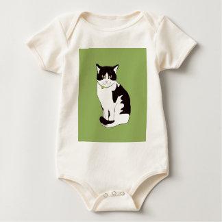 Mario da Cat Baby Bodysuit