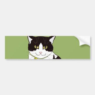 Mario da Cat Bumper Sticker
