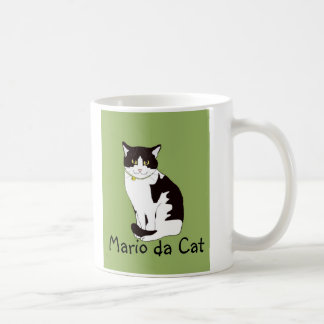 Mario da Cat Coffee Mug
