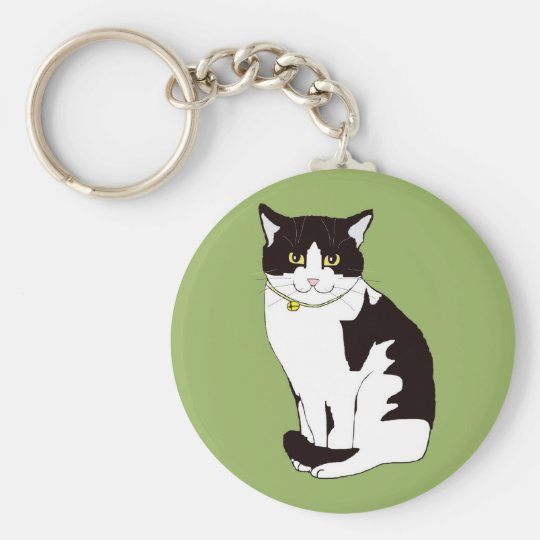 Mario da Cat Keychain
