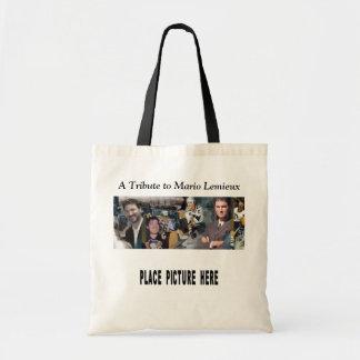 Mario Mosaic Tote w/ Individual Photo Budget Tote Bag