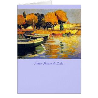 Mario Navarro da Costa painting Card