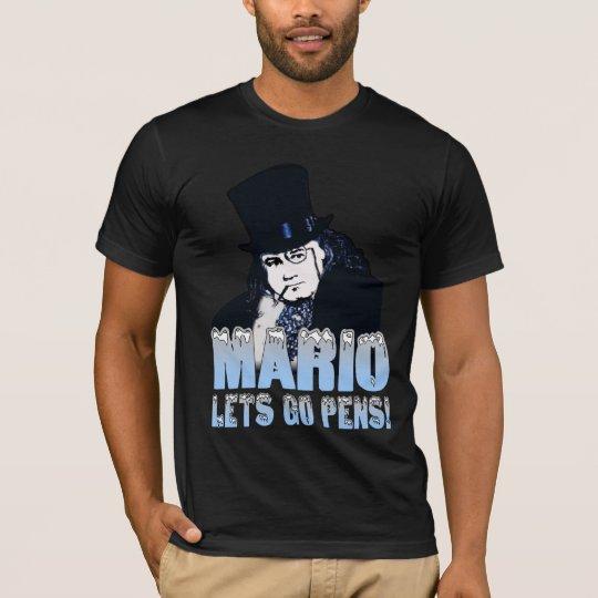 Mario Penguin Hockey T-Shirt