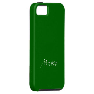 Mario Solid Green iPhone cover