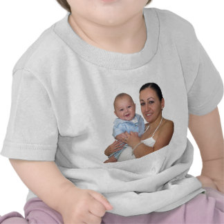 Mario W/Mommy Pascua 2009 Camiseta