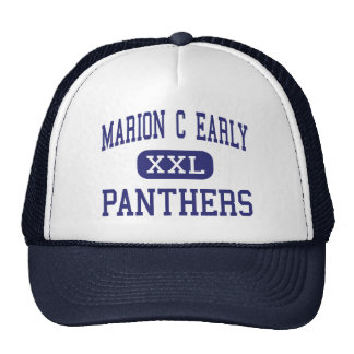 Marion C Early - Panthers - High - Morrisville Mesh Hats