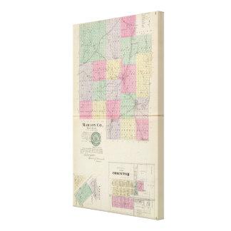 Marion County, Hillsboro, Lehigh, Kansas Canvas Print