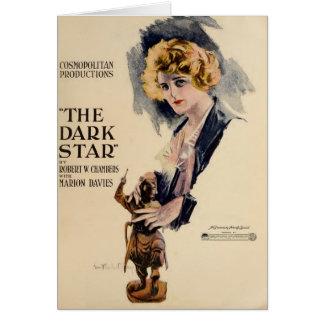 Marion Davies 1919 silent movie exhibitor ad Card