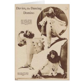 Marion Davies 1919 Tarjeta De Felicitación