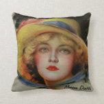 Marion Davies, Famous Film Star Pillow