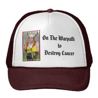Marion el gorra bárbaro del Warpath del cáncer
