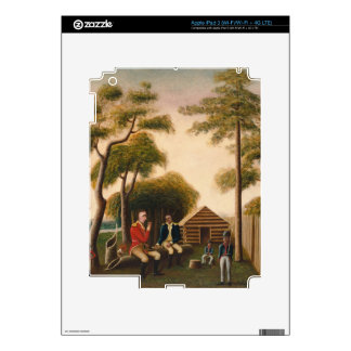 Marion Feasting the British Officer iPad 3 Skins