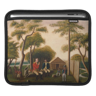 Marion Feasting the British Officer iPad Sleeves